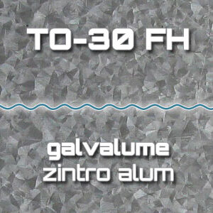 Lámina Acanalada TO-30 FH Galvalume Zintro Alum