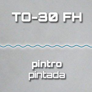 Lámina Acanalada TO-30 FH Pintro Pintada