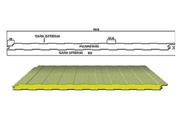 Panel Aislado para Muro Superwall Frigo de Metecno
