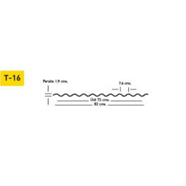 lamina acrilica acrylit tipo t 16 r 72 espesor estandar