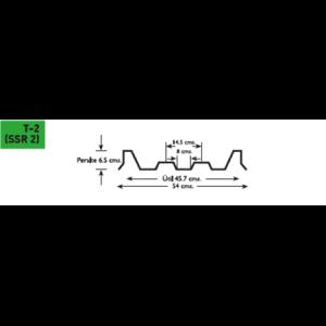 Lámina poliester Poliacryl tipo T 2 SSR 2 para KR 18