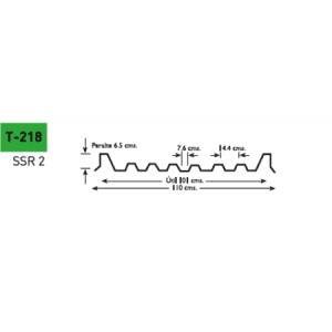 Lámina poliester Poliacryl tipo T-218 para KR-18 de 100 cm