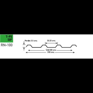 Lámina poliester Poliacryl tipo T-95 SIF para CM-100/35 y TRN-100/35