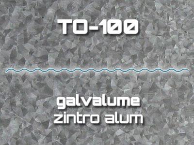 Lámina Acanalada TO-100 Galvalume Zintro Alum