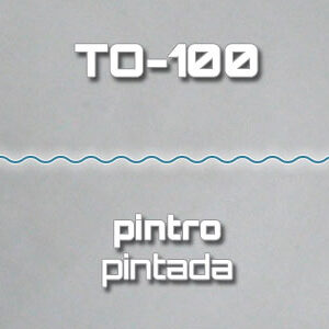 Lámina Acanalada TO-100 Pintro Pintada