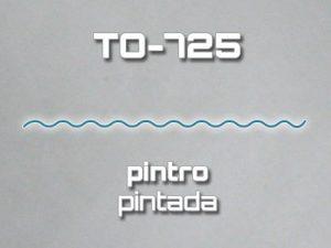 Lámina Acanalada TO-725 Pintro Pintada