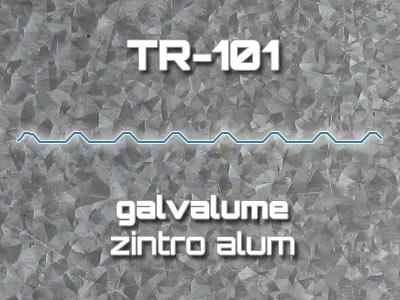 Lámina Acanalada TR 101 Galvalume Zintro Alum