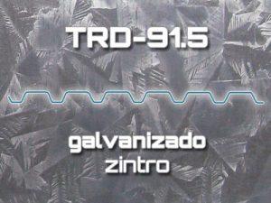 Lámina Acanalada TRD-91.5 Galvanizado Zintro