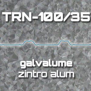 Lámina Acanalada TRN 100/35 Galvalume Zintro Alum