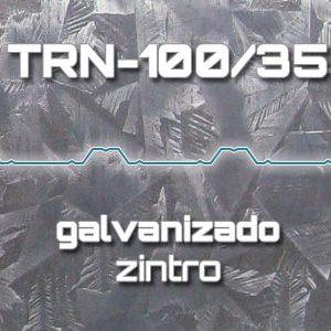 Lámina Acanalada TRN 100/35 Galvanizado Zintro