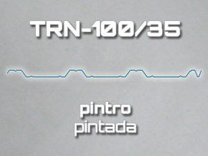 Lámina Acanalada TRN 100/35 Pintro Pintada