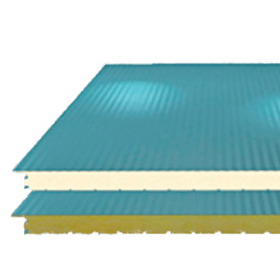 Panel Aislado para Muros Metecno